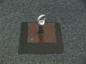 Устройство герметизации анкера с использованием полимерной рамки.