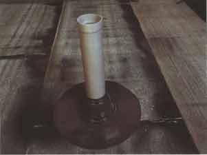 Установка переходника на трубу